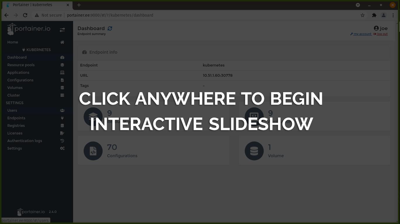 Click to begin Interactive Slideshow