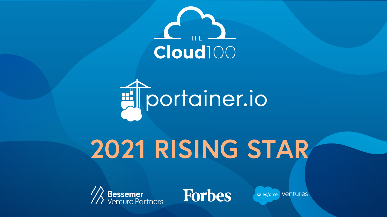 Portainer.io recognized as 'rising star' in Forbes' 2021 CLOUD 100 list