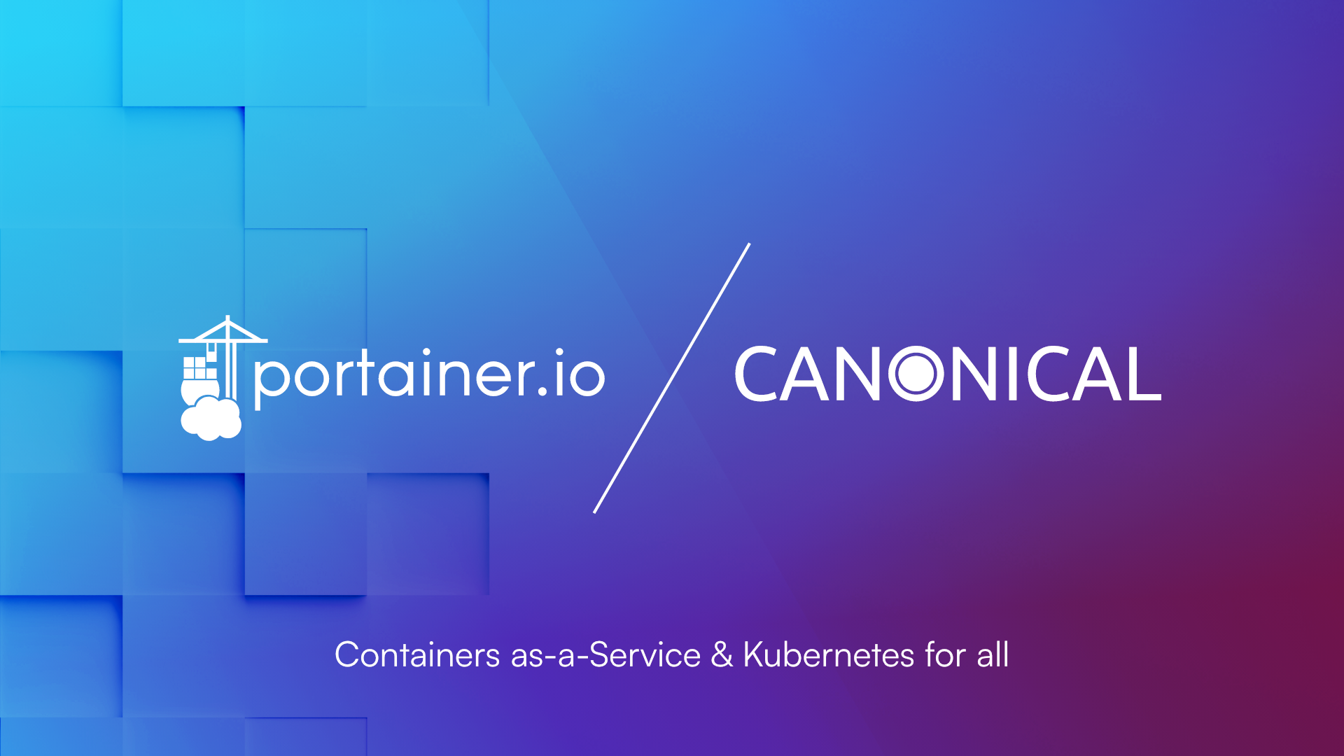 Portainer and Canonical Expand Partnership Launching Business Charm for Charmed Kubernetes